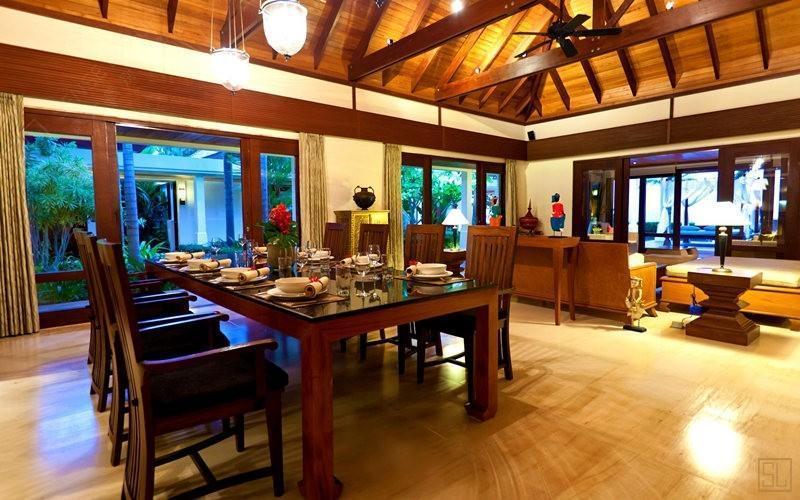泰国苏梅岛密斯卡湾金合欢别墅餐厅