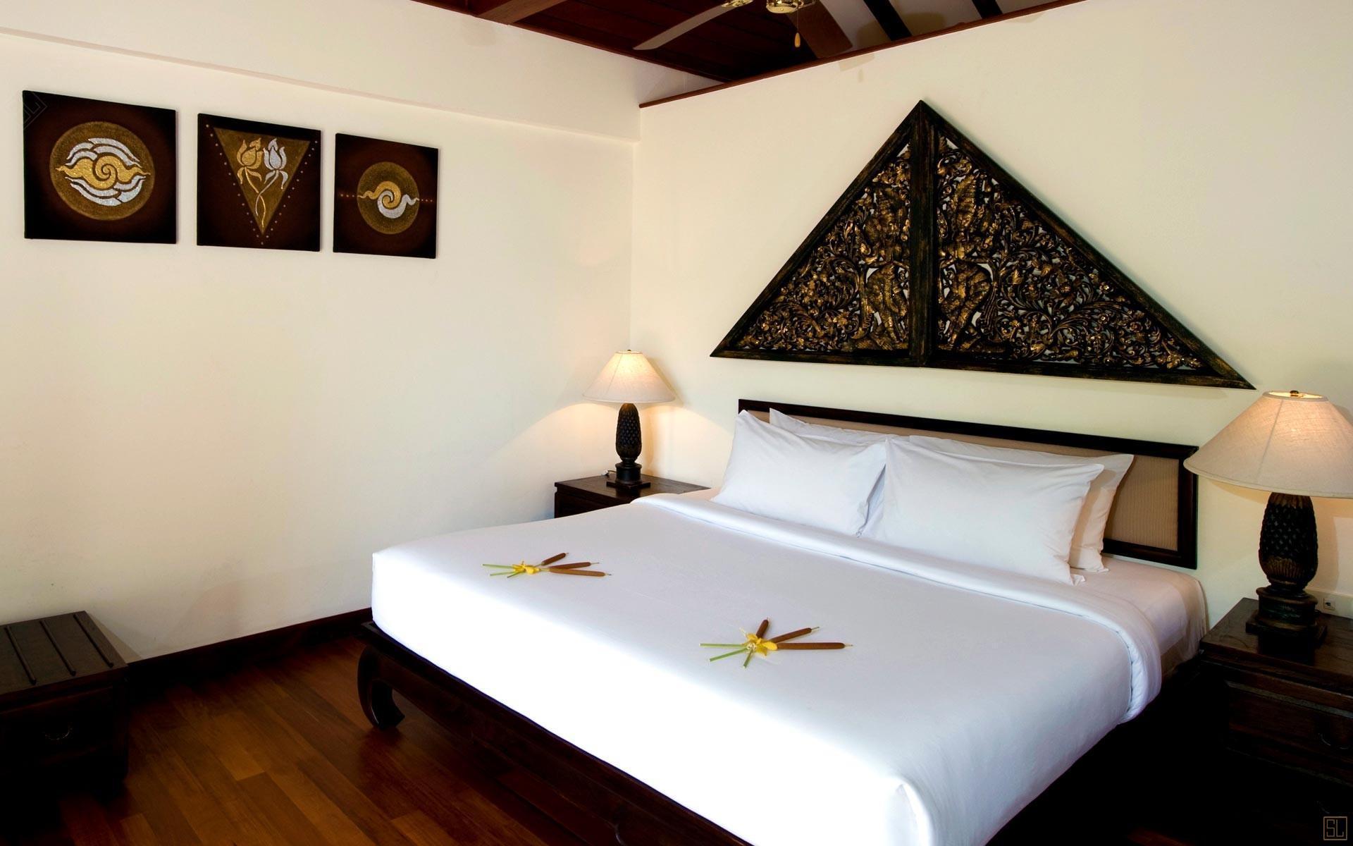 泰国苏梅岛密斯卡湾罗望子别墅卧室