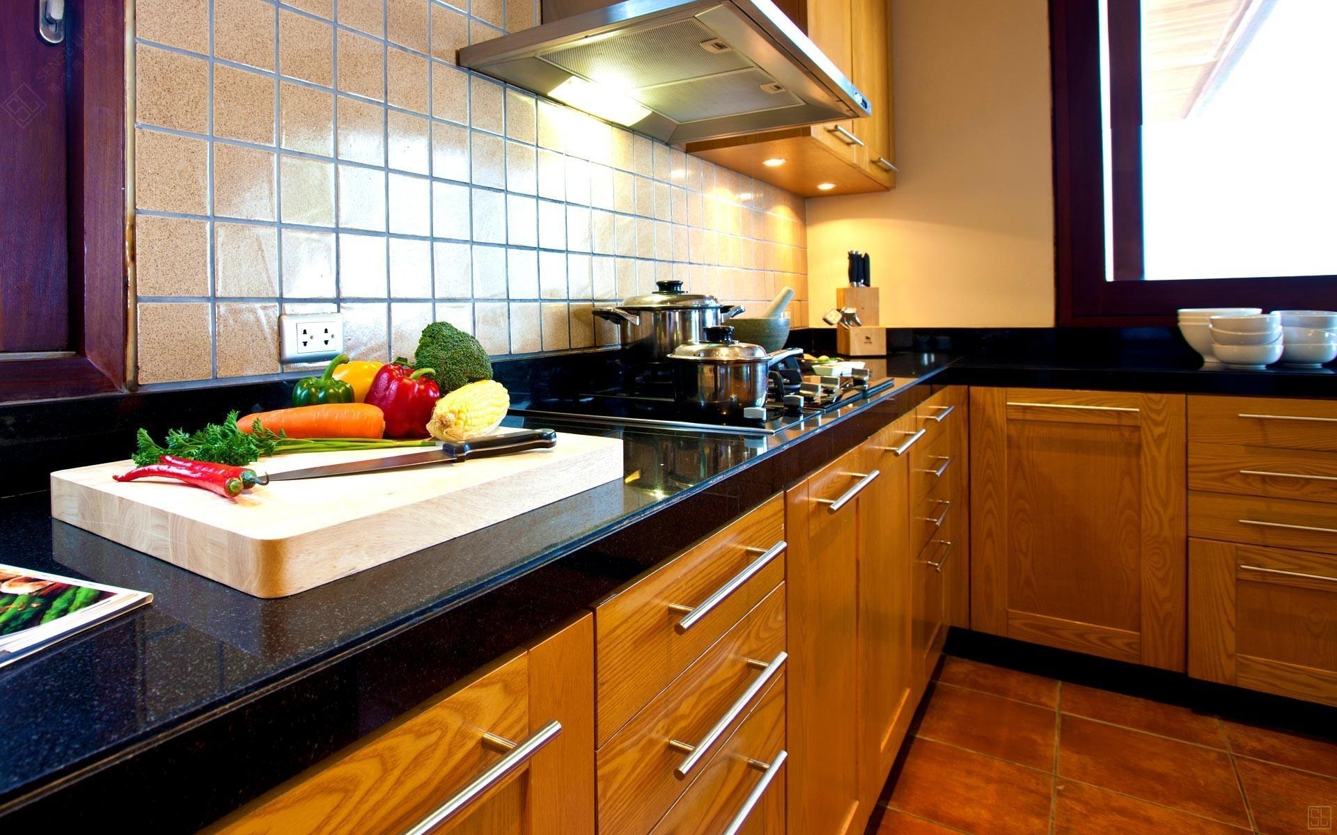 泰国苏梅岛密斯卡湾素馨别墅厨房