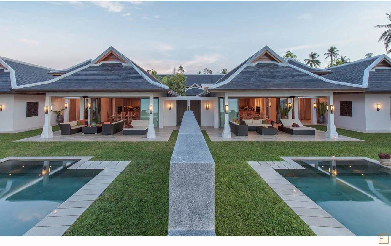 泰国苏梅岛密斯卡湾西拉别墅外观