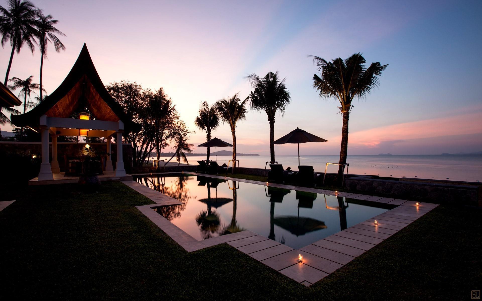 泰国苏梅岛密斯卡湾西拉别墅独立泳池