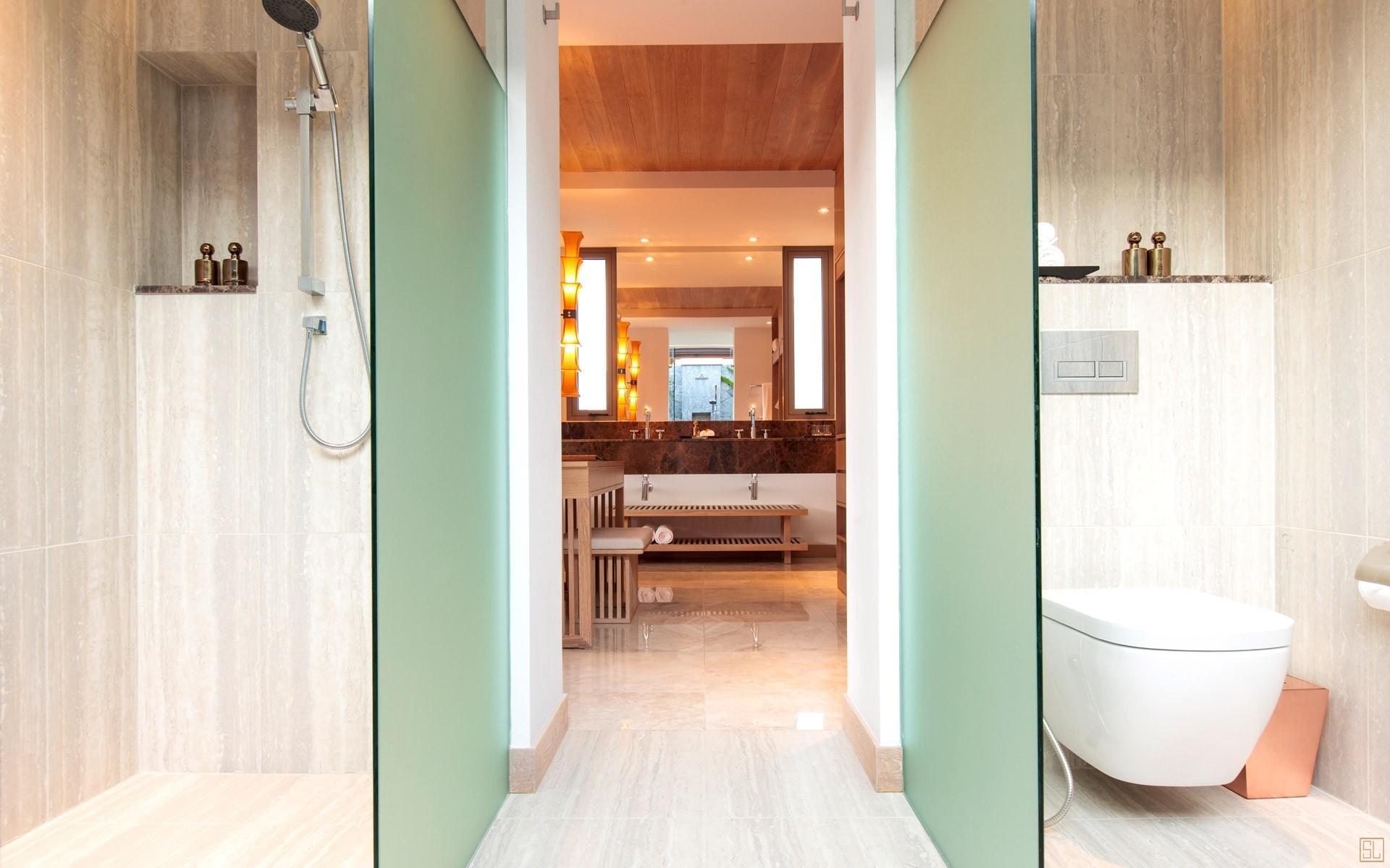 泰国苏梅岛密斯卡湾吾玉别墅浴室