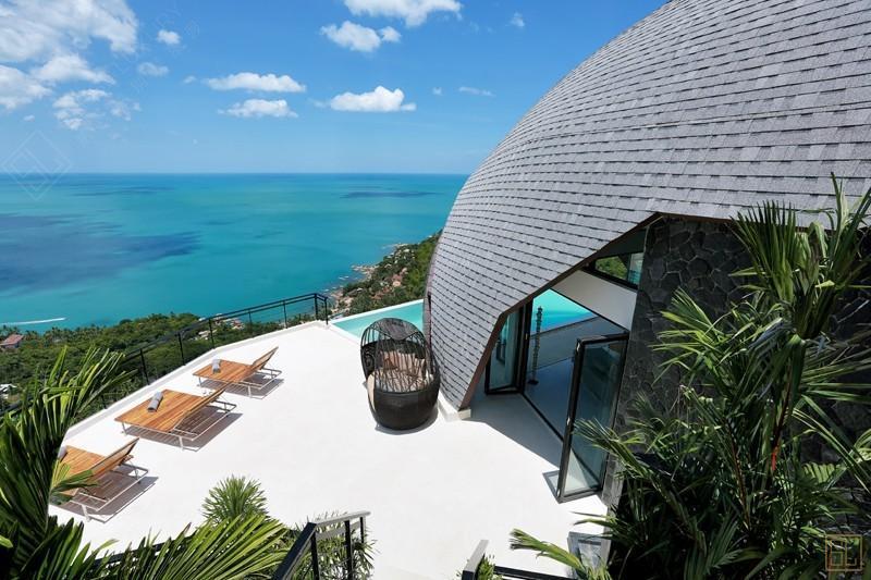 泰国苏梅岛月影别墅海景