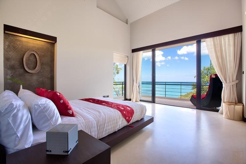 泰国苏梅岛月影别墅卧室