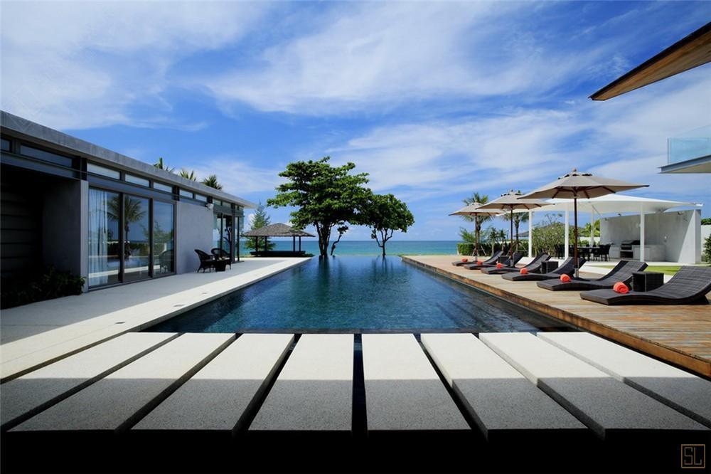 泰国普吉岛夏尔别墅休息区
