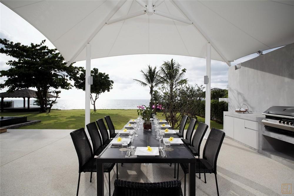 泰国普吉岛夏尔别墅餐桌