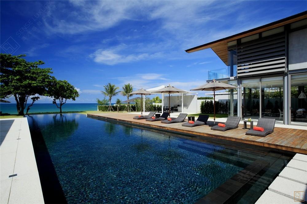 泰国普吉岛夏尔别墅海景