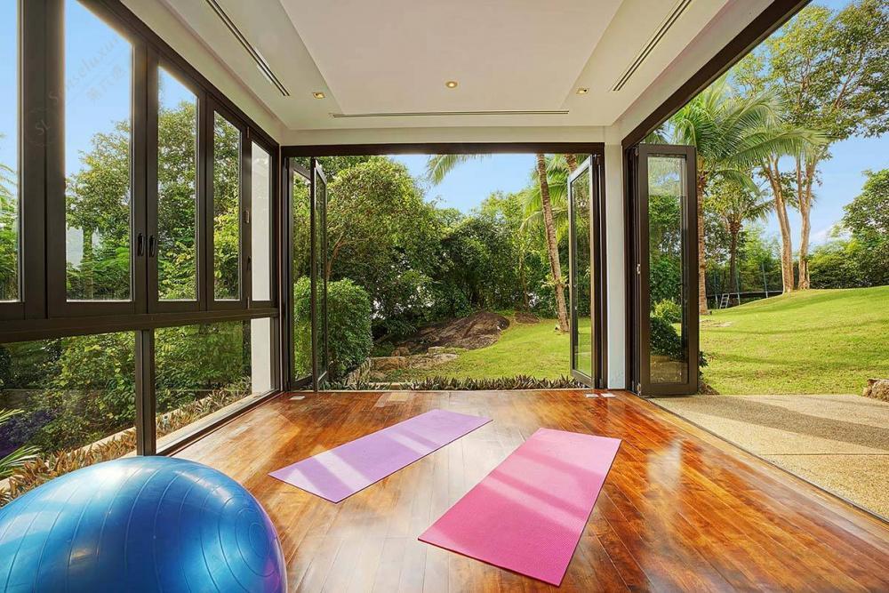 泰国普吉岛艾逸别墅瑜伽房