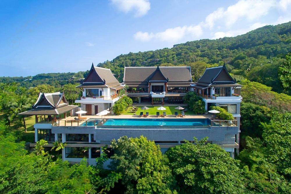 泰国普吉岛艾逸别墅全景