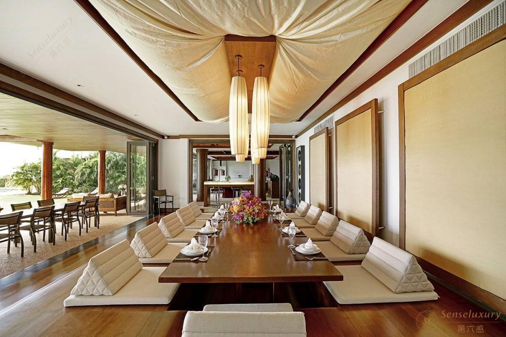 泰国普吉岛艾逸别墅餐桌