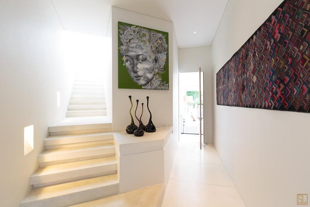 泰国苏梅岛青瓷别墅楼梯