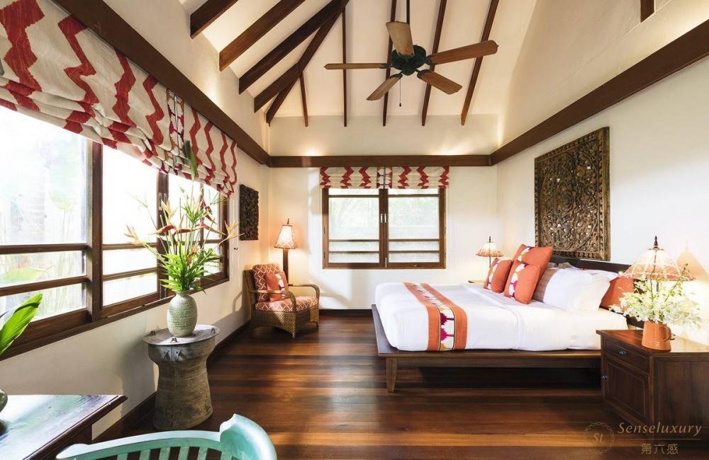 泰国苏梅岛维玛丽别墅卧室