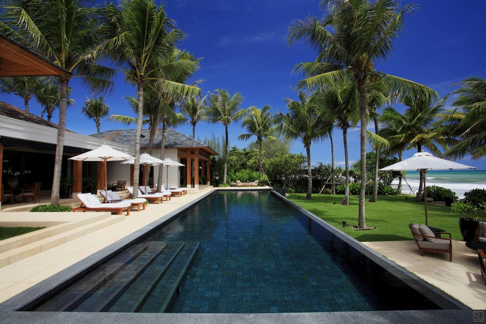 泰国普吉岛楠达娜别墅海景