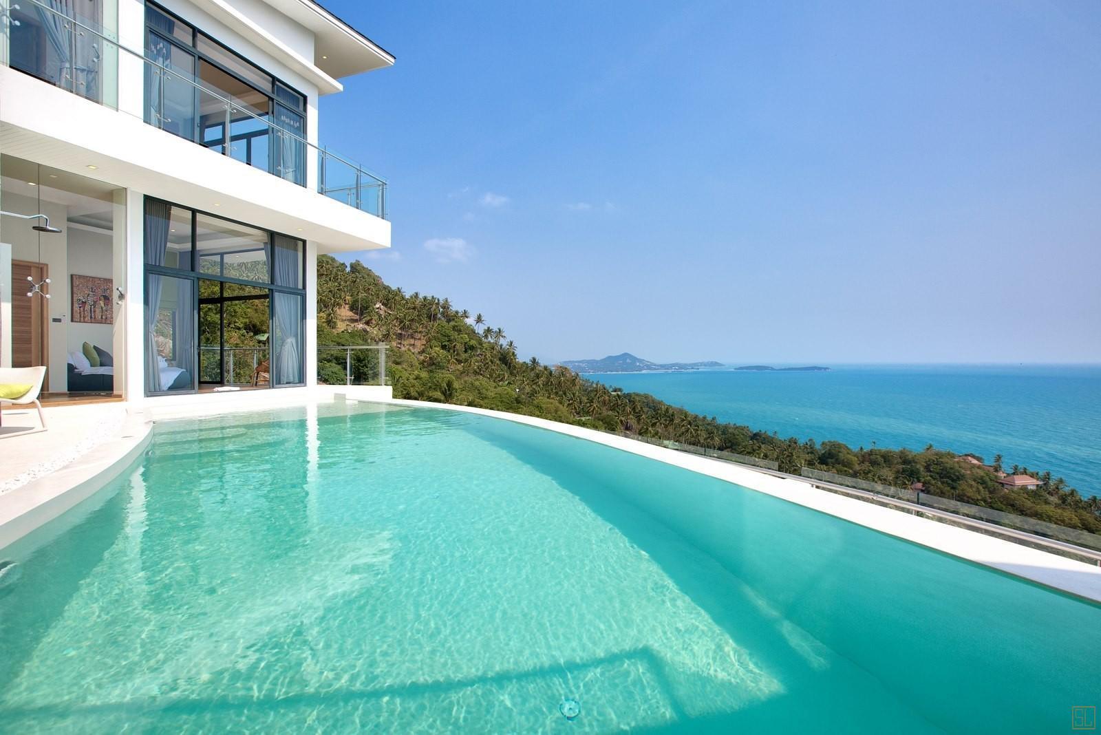 泰国苏梅岛萨瓦蒂别墅泳池