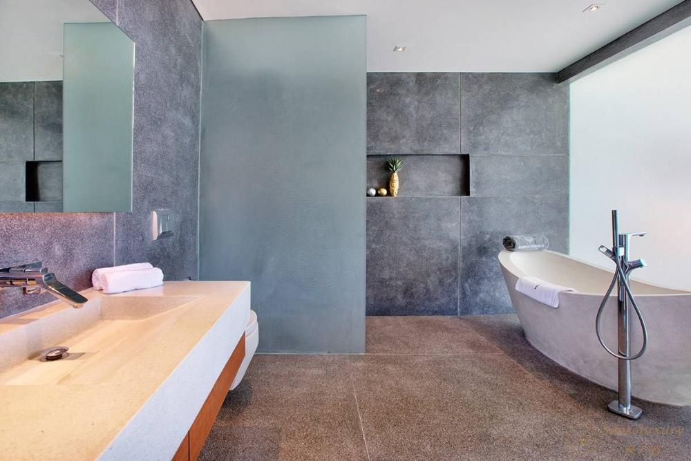泰国苏梅岛妮恩别墅浴室
