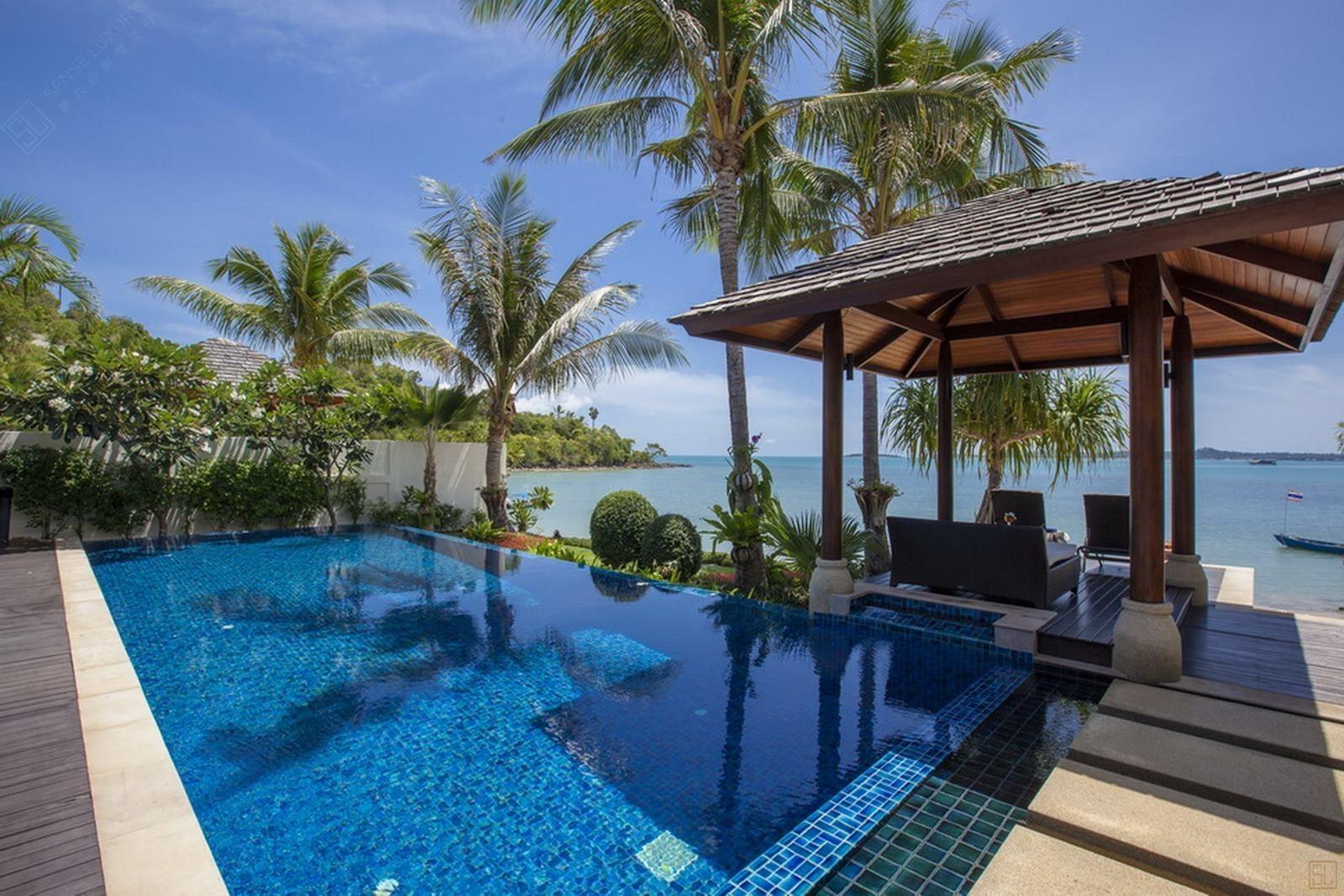泰国苏梅岛乐拉瓦蒂别墅海景