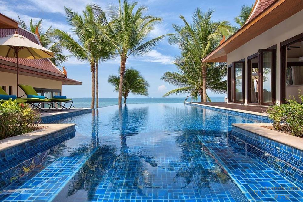 泰国苏梅岛象语别墅海景