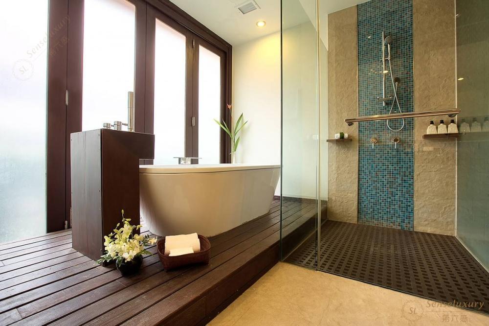 泰国苏梅岛象语别墅浴缸