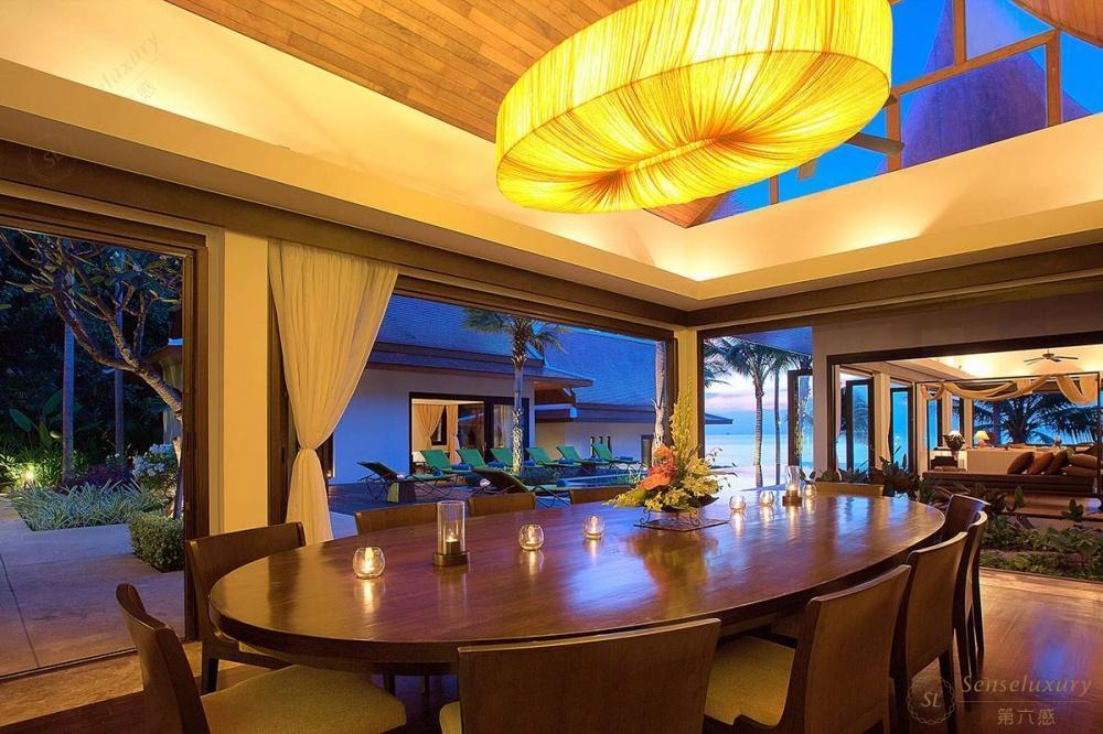 泰国苏梅岛象语别墅餐桌