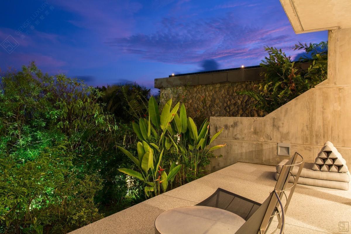 泰国普吉岛萨姆萨拉-班雅诗瑞别墅花园