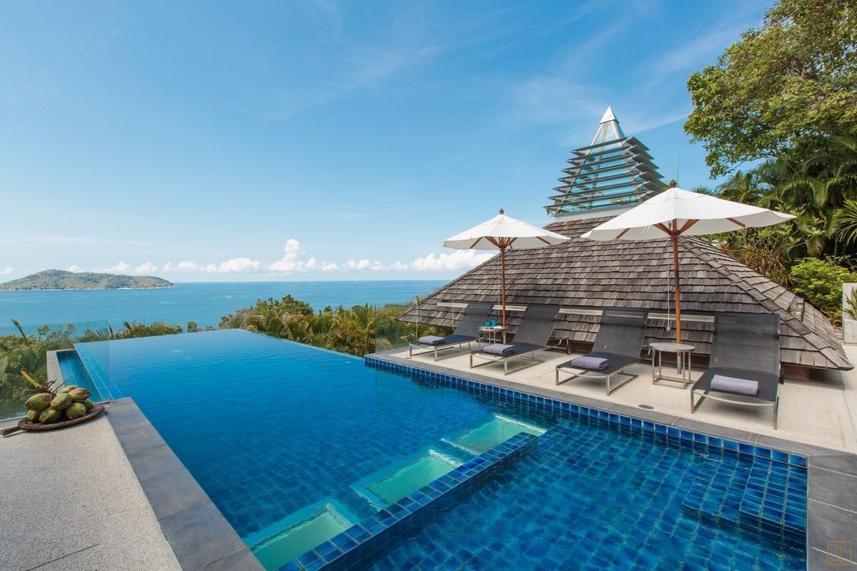 泰国普吉岛萨姆萨拉-班雅诗瑞别墅远景