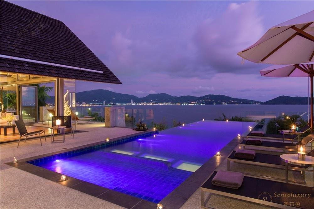 泰国普吉岛萨姆萨拉-班雅诗瑞别墅泳池