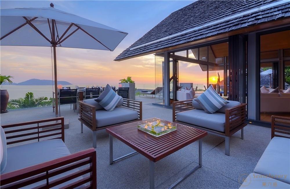 泰国普吉岛萨姆萨拉-班雅诗瑞别墅休息区