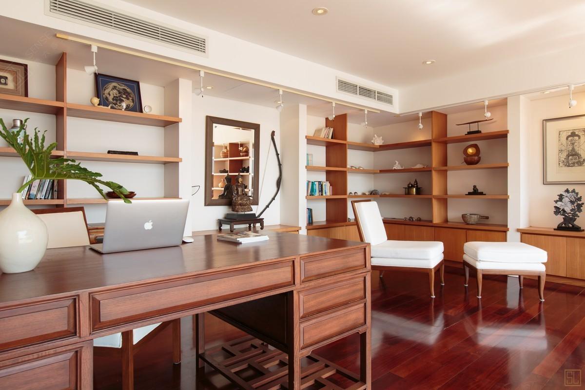 泰国普吉岛萨姆萨拉-洛梦池别墅书桌