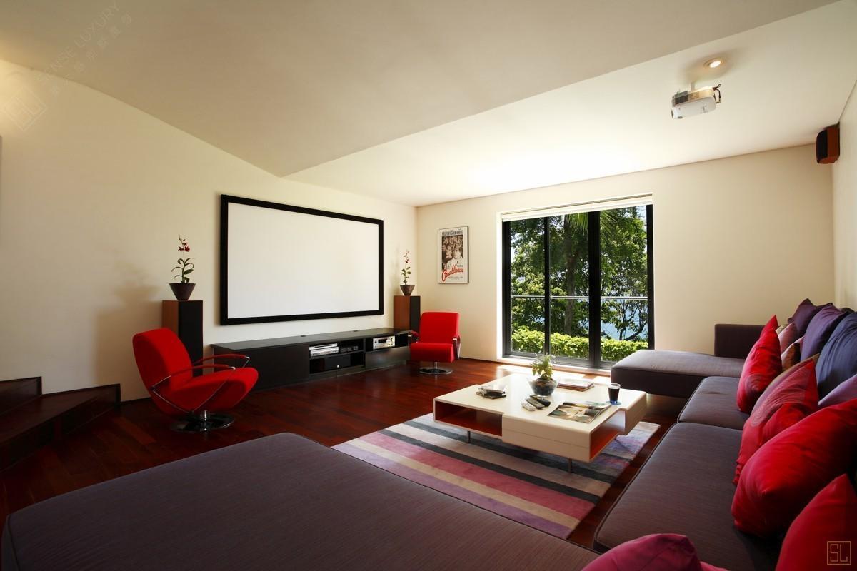 泰国普吉岛萨姆萨拉-利拉瓦蒂别墅客厅