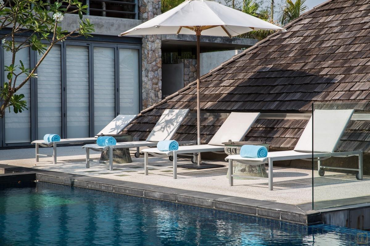 泰国普吉岛萨姆萨拉-利拉瓦蒂别墅泳池