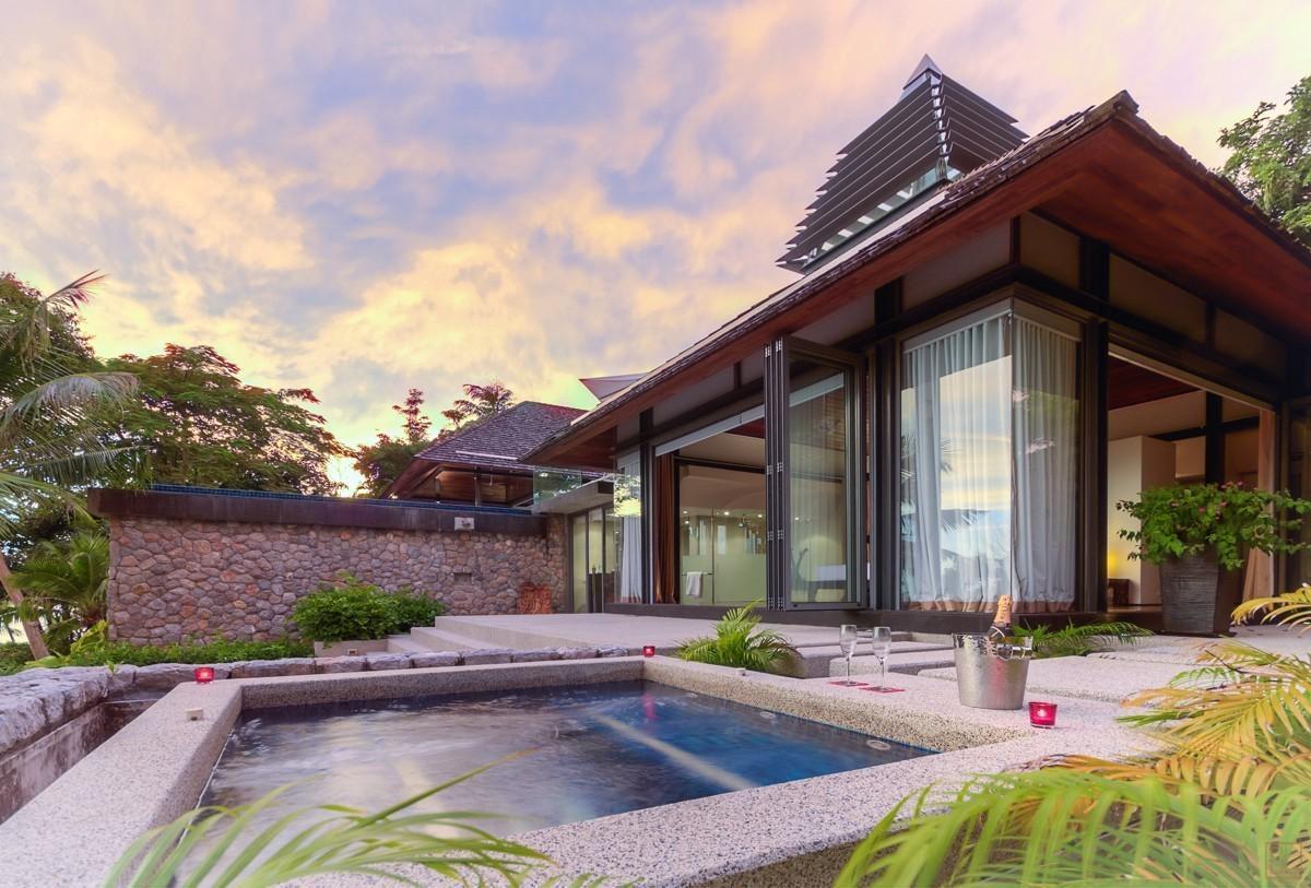 泰国普吉岛萨姆萨拉-利拉瓦蒂别墅全景