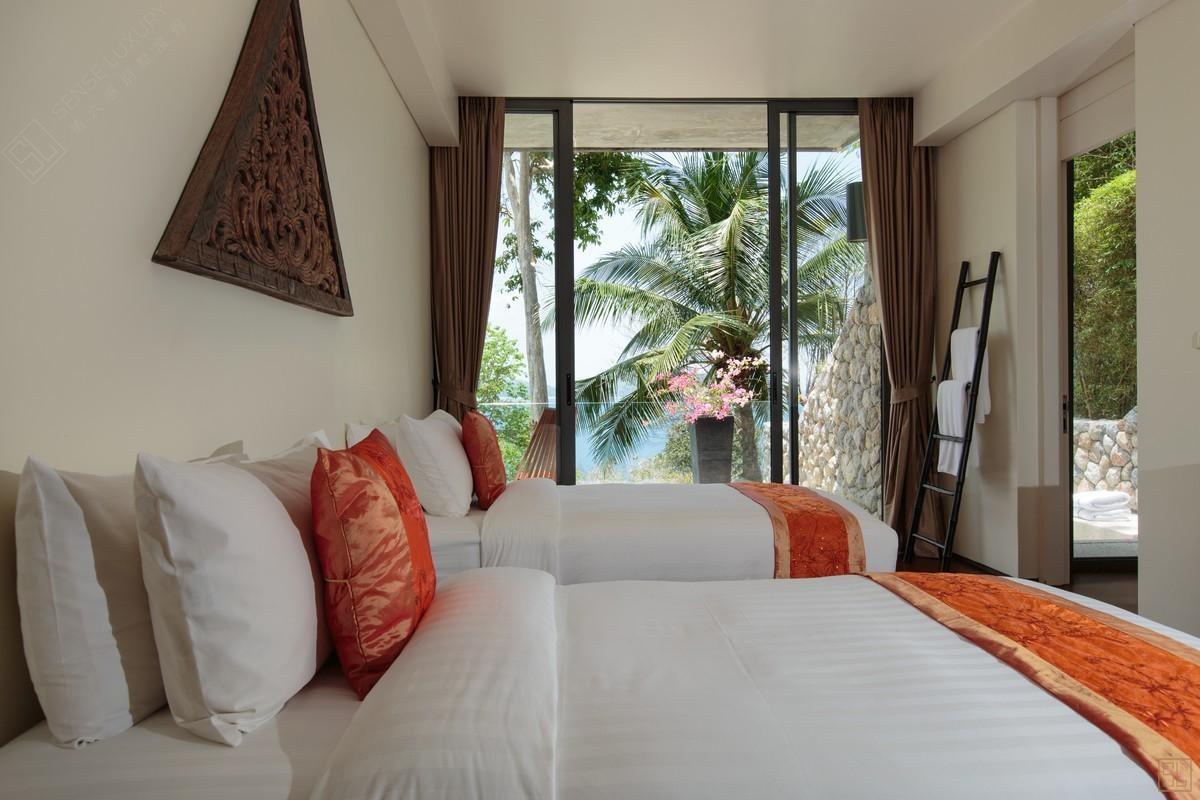 泰国普吉岛萨姆萨拉-利拉瓦蒂别墅双床房