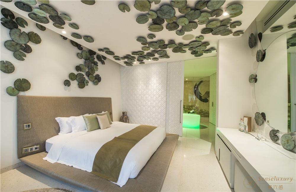 泰国普吉岛暹罗别墅卧室