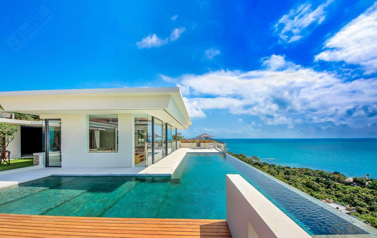 泰国 苏梅岛 查汶海滩  娜塔别墅