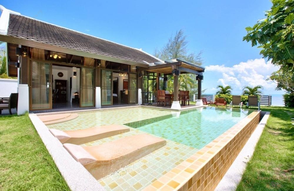 泰国苏梅岛安慕乐海滨别墅独立泳池