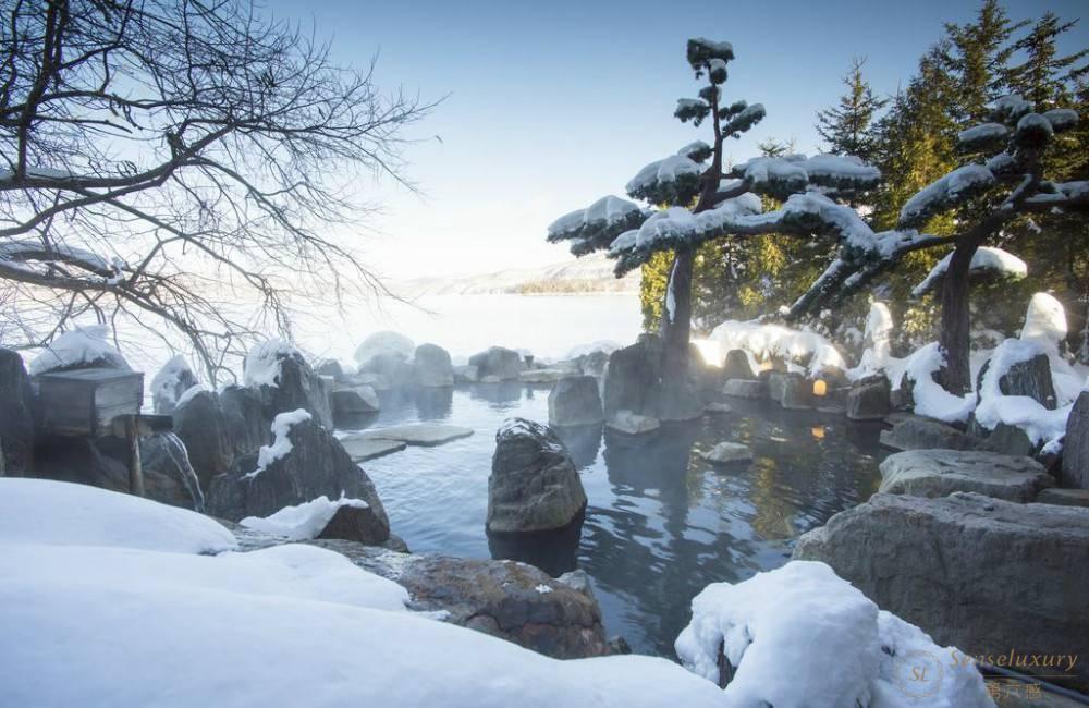 阿寒湖庭院露天浴场